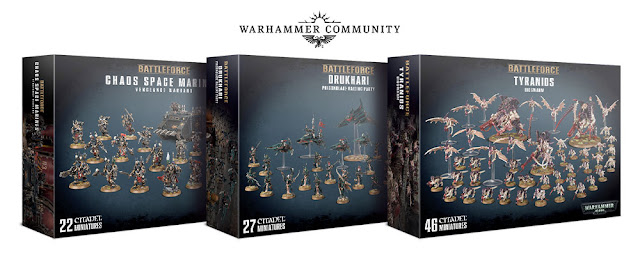 Cajas Battleforce Warhammer 40,000