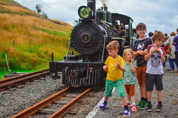 South Wales with Kids, exploring Wales, Brecon Beacons, Brecon Mountain Train