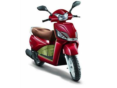 Mahindra Gusto 110cc scooter