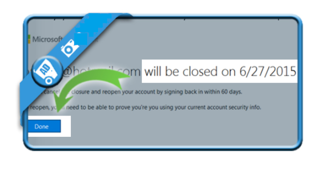 How to delete a Hotmail ( Outlook.com ) Account .