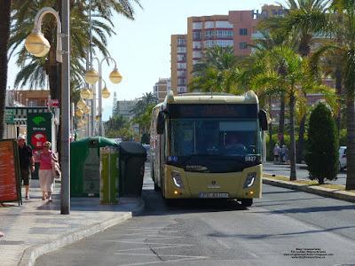 Castrosua Magnus.E, Consorcio de Transporte Metropolitano del Área de Málaga