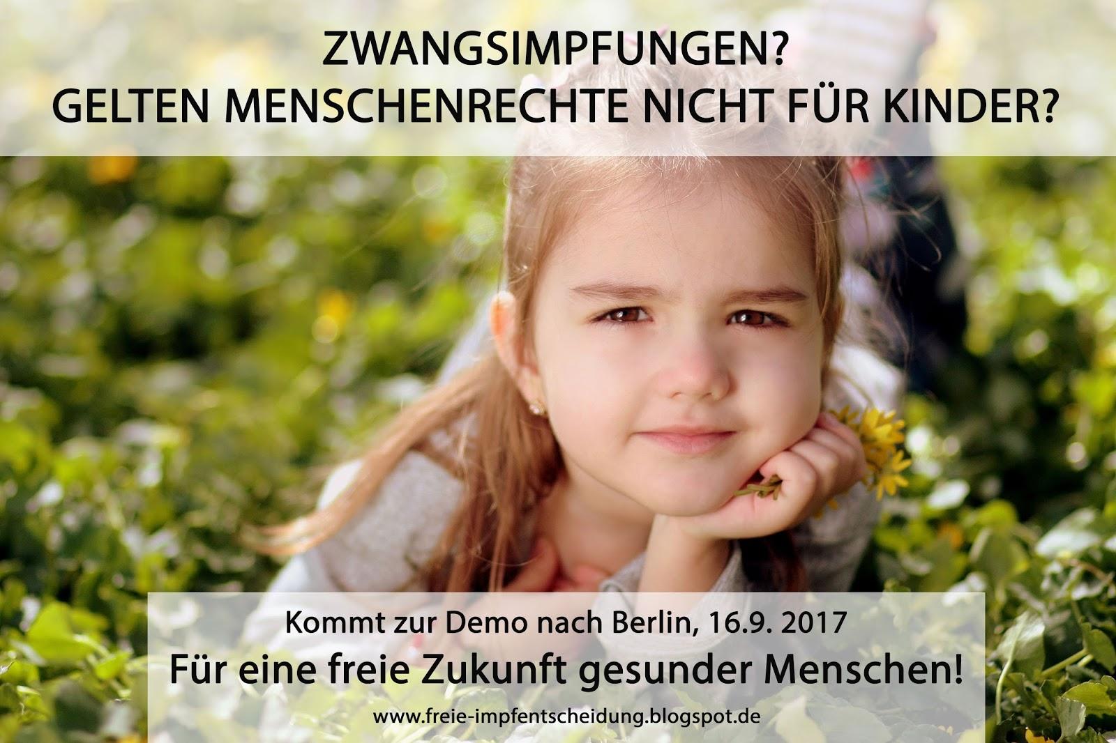 Für freie Impfentscheidung - gegen Zwangsmaßnahmen!: WARUM SOLLTE ...