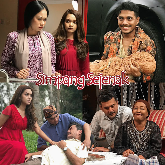 Telemovie Simpang Sejenak Lakonan Syazwan Zulkifly, Azira Shafinaz, Azri Iskandar