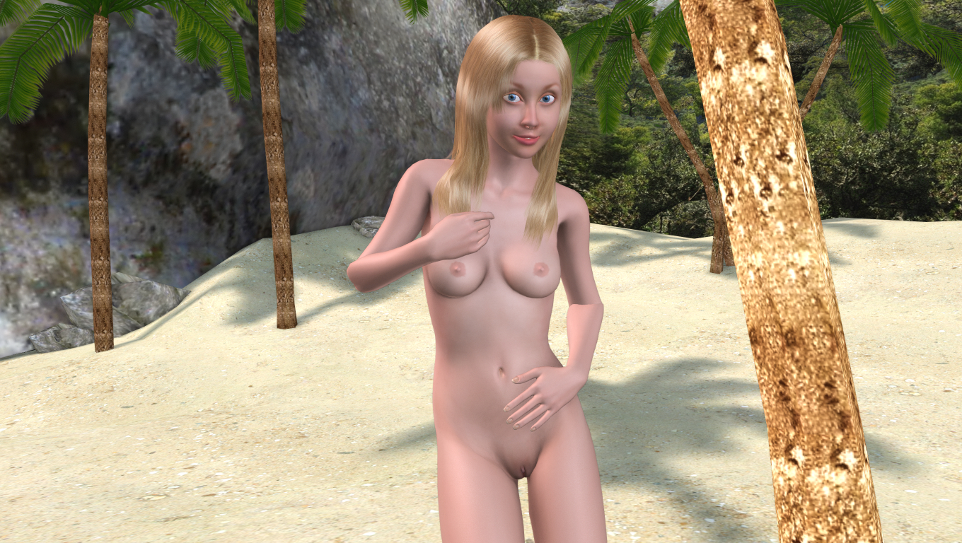 Beach nude mature-1001