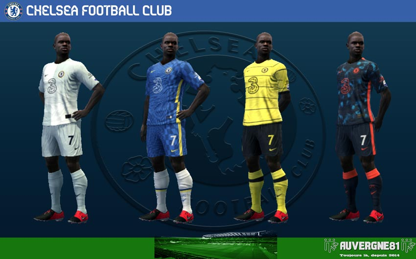 Kits Chelsea FC 2021-2022 For PES 2013