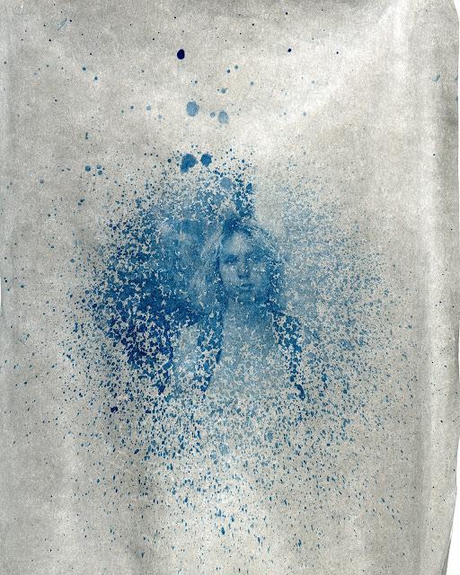 Ella Splattered (backlit)