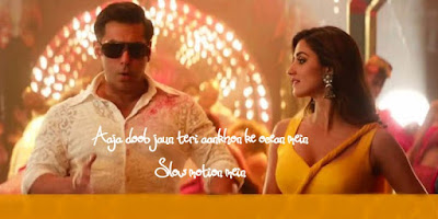 स्लो मोशन Slow Motion Song Lyrics In Hindi –  Bharat | Salman Khan & Disha Patani