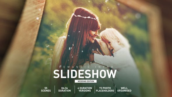 Romantic Wedding Intro Slideshow[Videohive][After Effects][28950021]