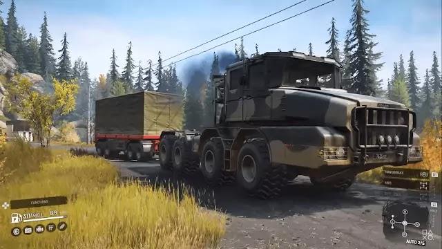SnowRunner Trucking Game wallpaper