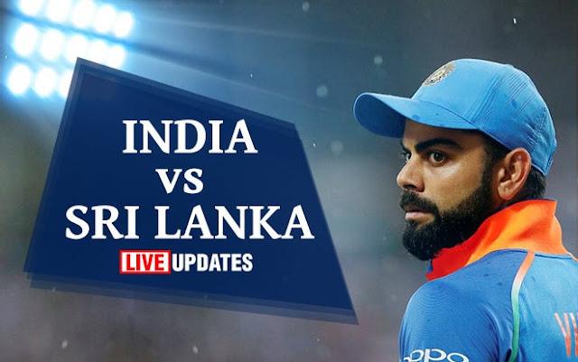 Live India vs Sri Lanka 5th ODI, Live Score