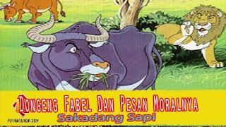Dongeng Fabel Bahasa Sunda Sakadang Sapi Dan Pesan Moralnya!