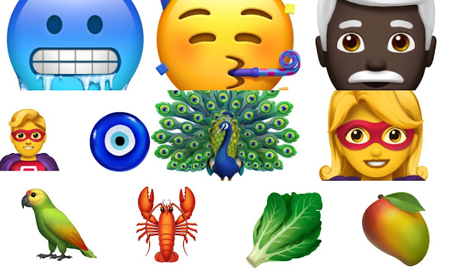Apple New Emogi's Coming to iOS