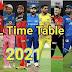 आईपीएल 2021 मैच लिस्ट की जानकारी है आप के पास।You have information about IPL 2021 match list.