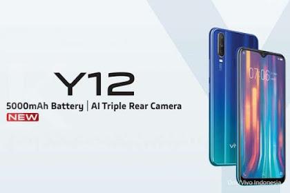 Harga HP Vivo Y12 Terbaru Hanya 1Jutaan di Pasaran 2021