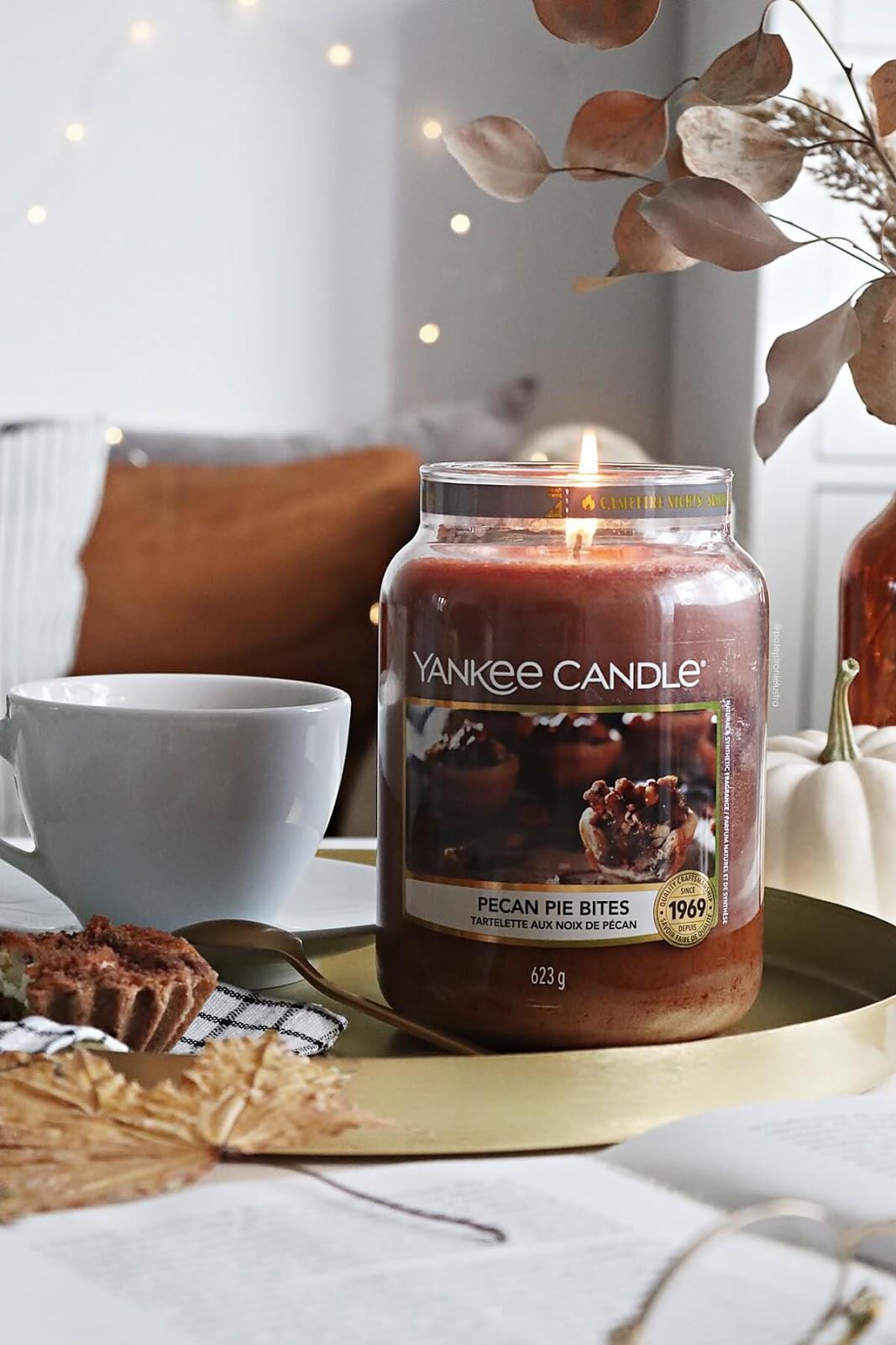 yankee candle pecan pie bites nowość jesień 2020