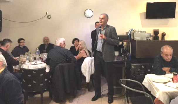 Με μεγάλη επιτυχία το γλέντι καλωσορίσματος των νέων μελών του ΣΥΡΙΖΑ - ΠΡΟΟΔΕΥΤΙΚΗ ΣΥΜΜΑΧΙΑ Ναυπλίου