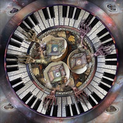 """""""""""Nido instrumental con piano para seis manos"""""""" Obra de (Ramon Rivas / Spain), presentada en la Feria Internacional de Arte de Shanghai 2020"""