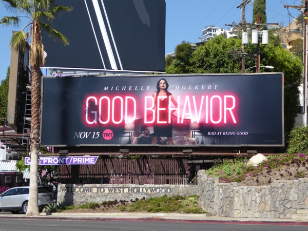 Good Behavior series premiere billboard