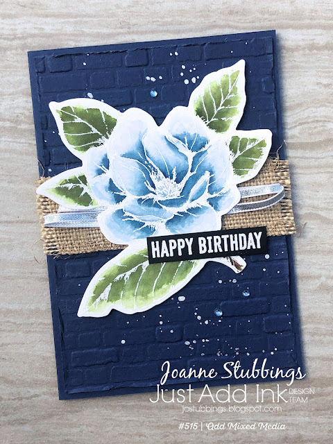 Jo's Stamping Spot - Just Add Ink Challenge #515 using Good Morning Magnolia by Stampin' Up!
