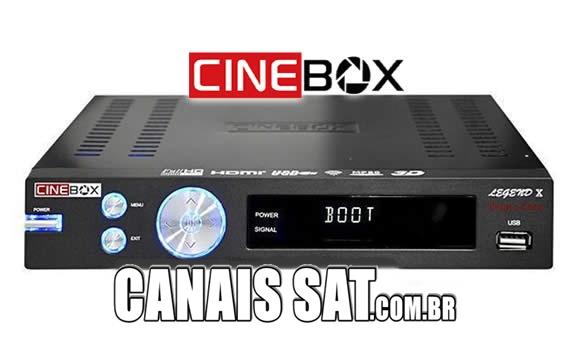 Cinebox Legend X Dual Core Atualização - 31/05/2021