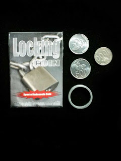 toko sulap jogja Locking Coin Magic