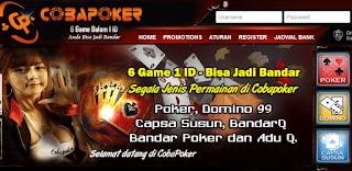 Cobapk.com Agen Poker | Dewa Poker | Bandar QQ Online Terpercaya Terbaik Terbaru di Indonesia