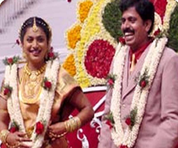 Actress Roja Wedding Photos