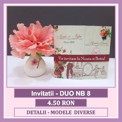 http://www.bebestudio11.com/2018/04/invitatii-nunta-si-botez-duo-nb-8.html
