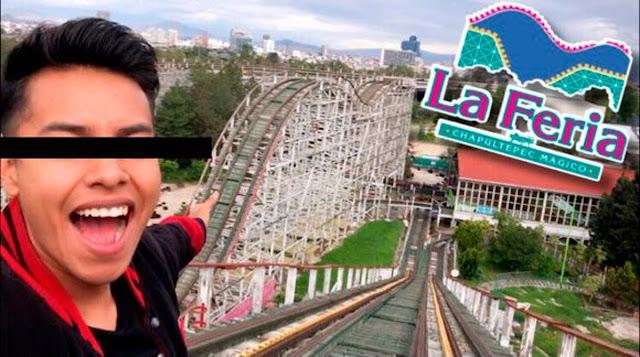 Detienen a 14 niños tiktokers por meterse a la Feria de Chapultepec