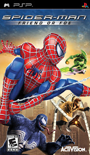 Cheat Spider-Man: Friend or Foe PSP PPSSPP