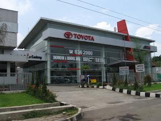 Showroom Toyota Auto2000 Bogor Yasmin