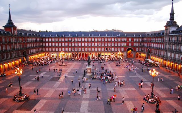 Praça Plaza Mayor Madri
