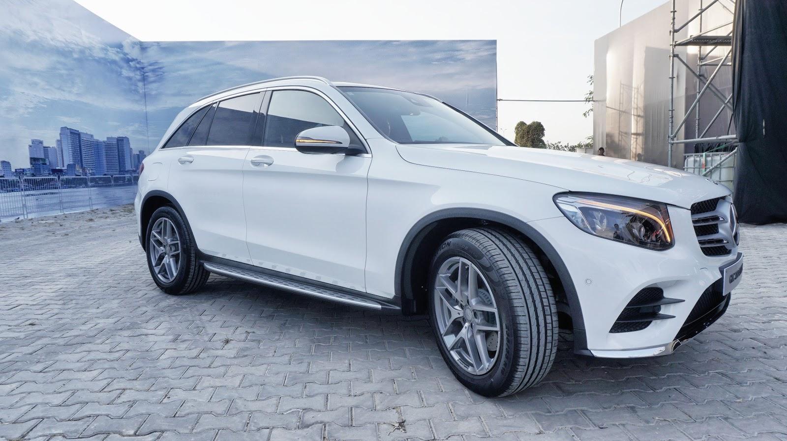 Mercedes-Benz GLC 300 4Matic quá nhiều tính năng an toàn, hiện đại, giải trí đỉnh cao, offroad tốt, giá chỉ từ 1,9 tỷ đồng, giá cực tốt