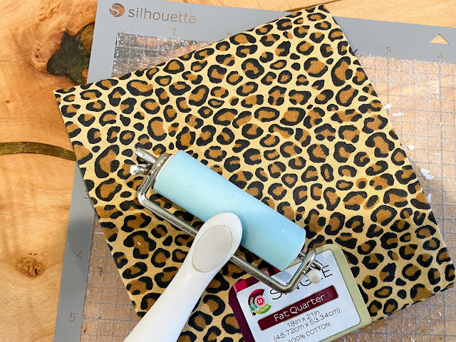 fabric, brayer, silhouette accessories, cameo 4, silhouette tools