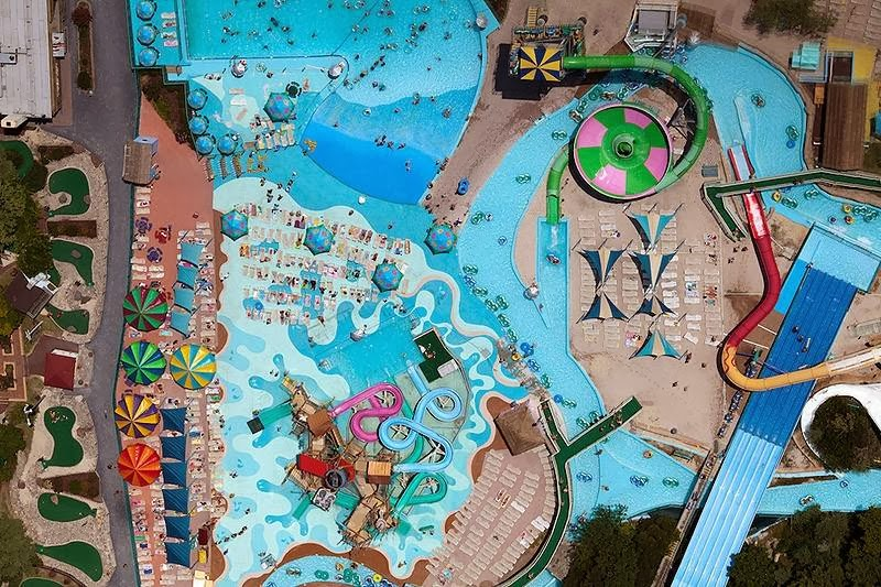"""Jolly Roger"" - a water park in Ocean City, Maryland, USA."