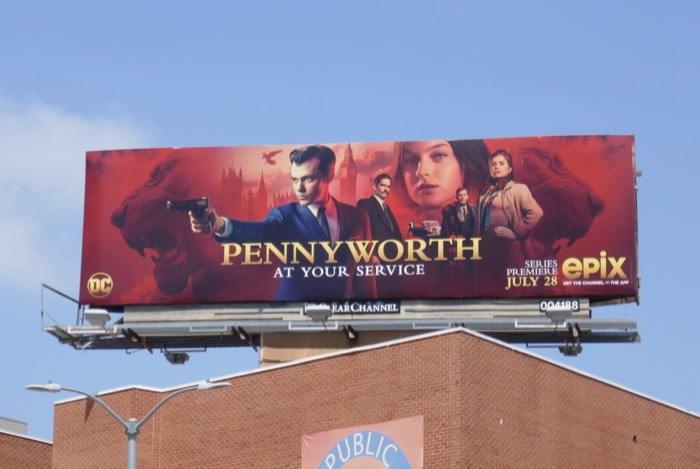 Pennyworth season 1 billboard