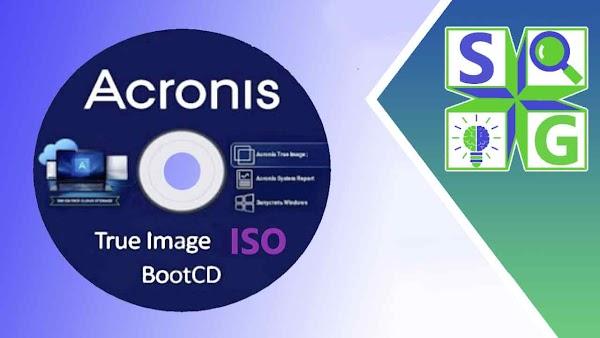 أسطوانة اكرونيس عمل نسخة إحتياطية للويندوز و الملفات  Acronis True Image iso 2021