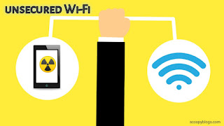 don't connect to unsecured WiFi