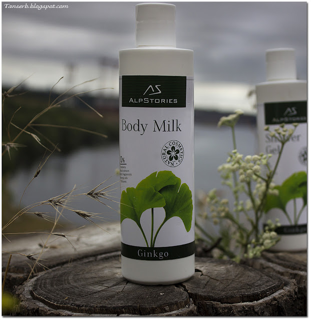 Молочко для тела AlpStories Body milk Ginkgo