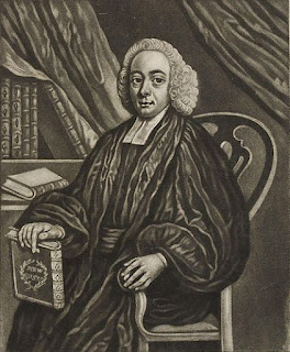 Reverend Martin Madan. From James Hervey; William Romaine; Thomas Jones; Martin Madan, by Thomas Kitchin. Given to the National Portrait Gallery, London in 1916.