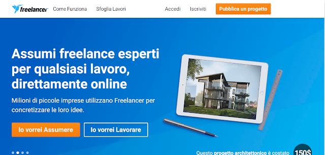 Freelancer.com: Guadagna lavorando Online come Freelancer!