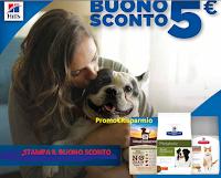 Logo Buono sconto da 5€ Hill's Pet : stampalo subito!