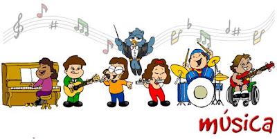 Resultado de imagen de música niños
