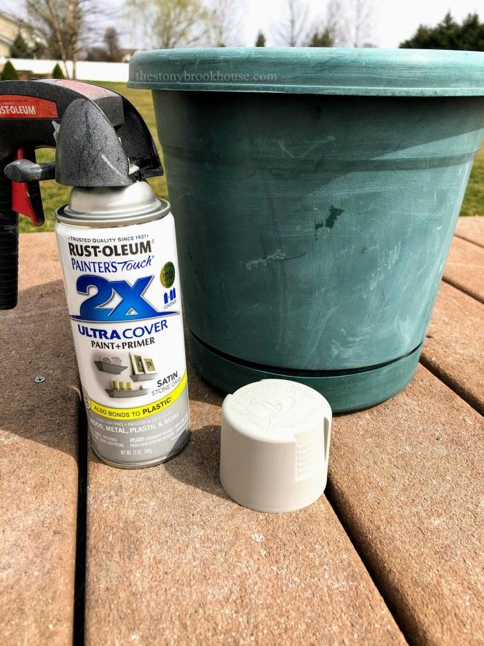 How To Transform A Plastic Pot