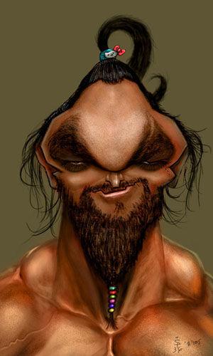 Series de televisión, Juego de Tronos. Conan el Bárbaro. Khal Drogo