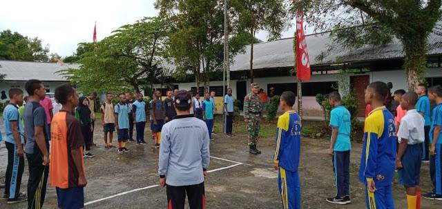 Brigif 20 Kostrad Berikan Motivasi, Pelatihan PBB dan Tata Cara Upacara Bendera