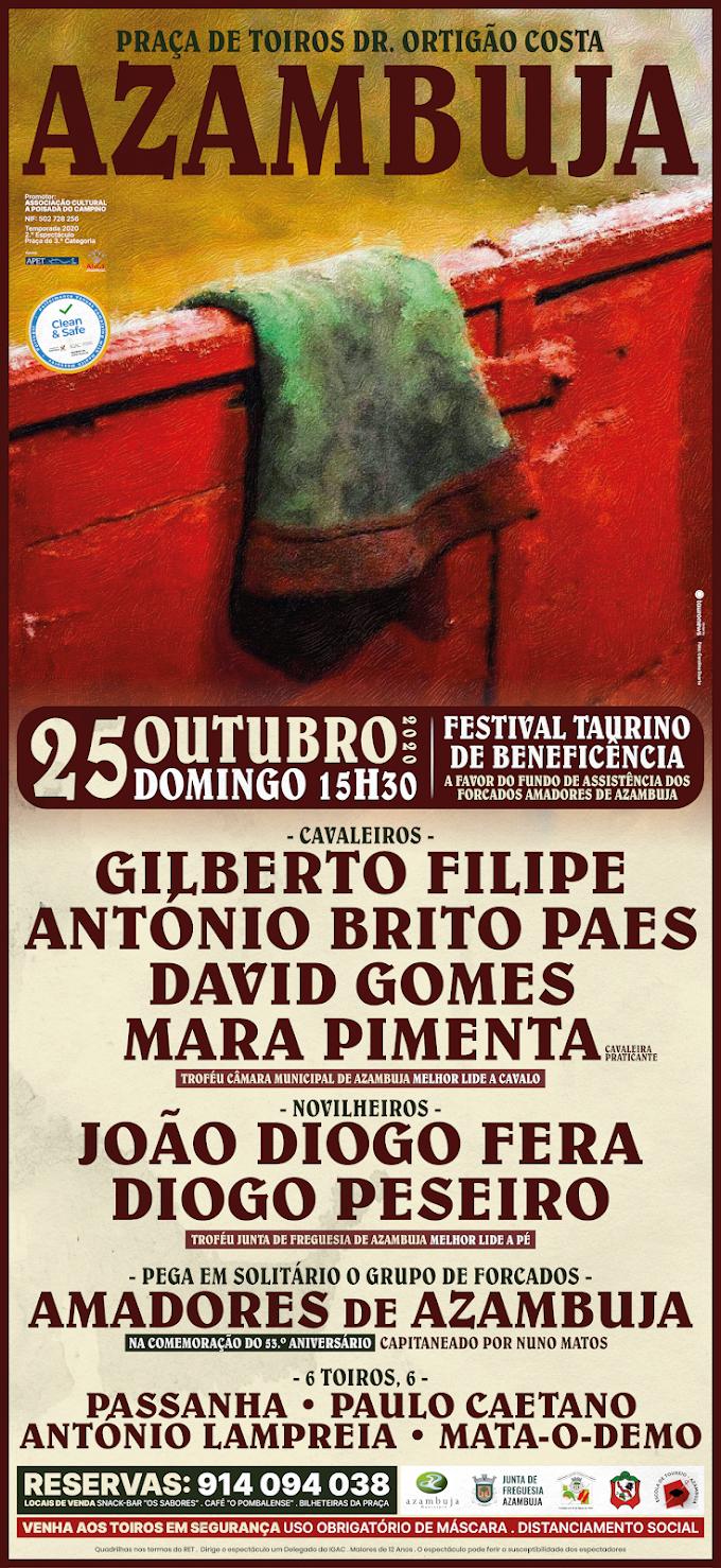 Festival Taurino em Azambuja a 25 de Outubro