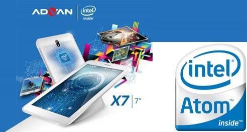 Harga dan Spesifikasi Advan X7