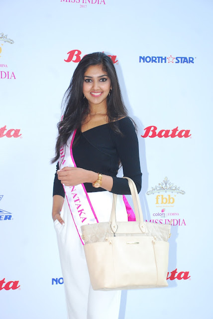 "Bata India is the Official Footwear Partner of ""FBB Colors Femina Ms. India 2017"""