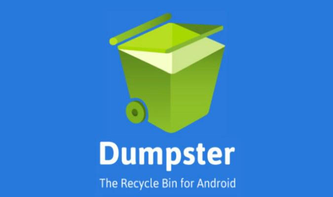 Rekomendasi Aplikasi Recycle Bin Terbaik tuk Android - Dumpster